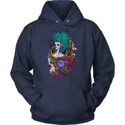 Virgo Sign Multicolor Style 4 Hoodies, Sweatshirt, Long Sleeve