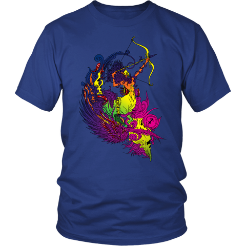 Sagittarius Sign Multicolor Style T-Shirts