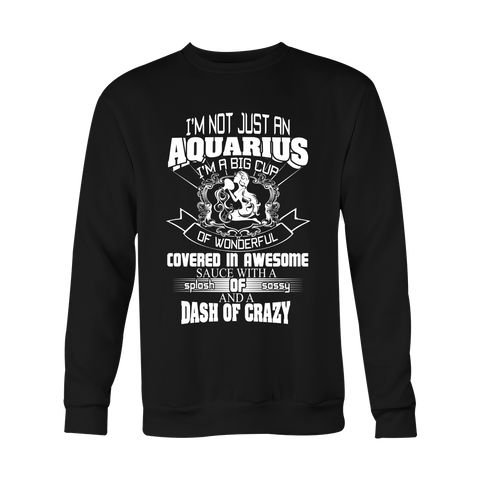 I am not just an Aquarius Hoodies, Sweatshirt, Long Sleeve