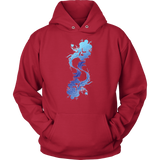 Pisces Sign Cool Colors Style 1 Hoodies, Sweatshirt, Long Sleeve