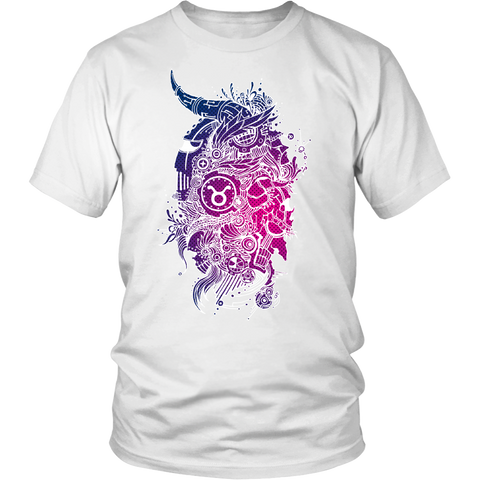 Taurus Sign Neutral Colors T-Shirts
