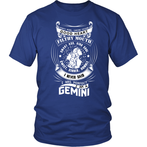 Gemini I Never Said. I Was Perfect T-Shirts