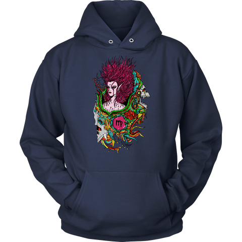 Virgo Sign Multicolor Style 1 Hoodies, Sweatshirt, Long Sleeve