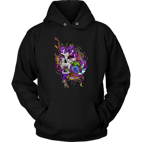 Scorpio Sign Multicolor Style 2 Hoodies, Sweatshirt, Long Sleeve