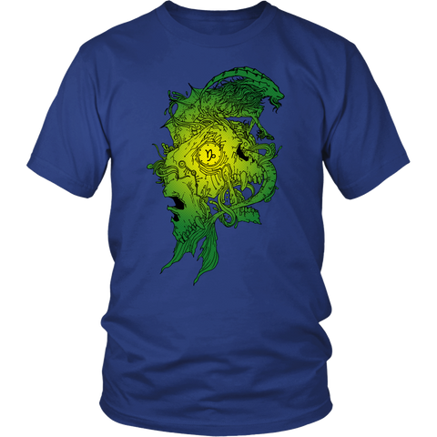 Capricorn Sign Green Style T-Shirts