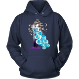 Aquarius Sign Angel Style 1 Hoodies, Sweatshirt, Long Sleeve