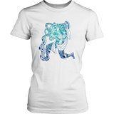 Aquarius Sign Cold Colors Style 4 T-Shirts
