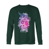 Taurus Purple Color Style Hoodies, Sweatshirt, Long Sleeve