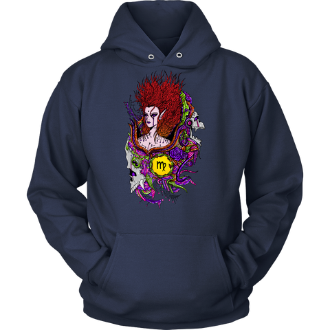 Virgo Sign Multicolor Style 2 Hoodies, Sweatshirt, Long Sleeve