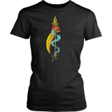 Aquarius Sign Arrow Yellow Style T-Shirts