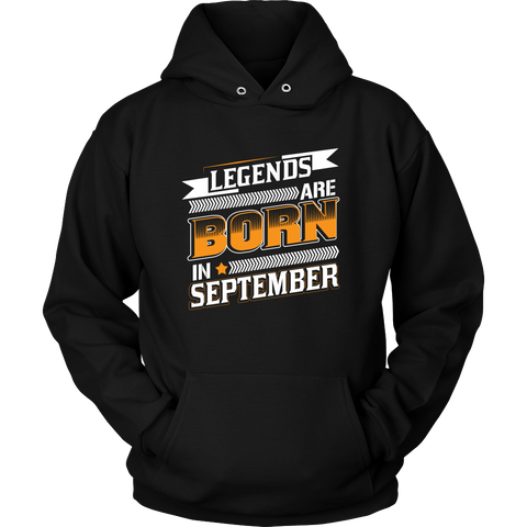 Virgo/Libra Sign Legends Are Born In September  Hoodies, Sweatshirt, Long Sleeve