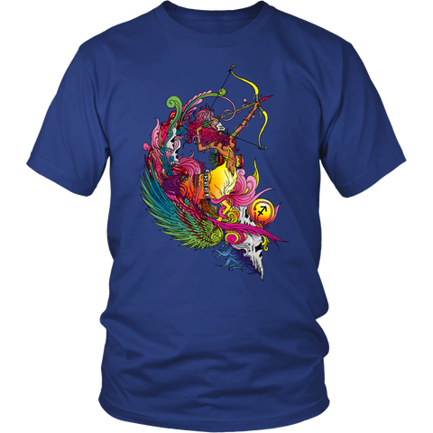 Sagittarius Sign Multicolor Style 1 T-Shirts