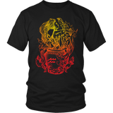 Aquarius Sign Flame Color Style 9 T-Shirts