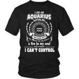 Can't control Aquarius Mouth T-Shirts