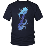 Pisces Sign Cool Colors Style 1 T-Shirts