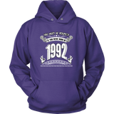 You Must Be Perfect. If You Were Born In 1992 Hoodies, Sweatshirt, Long Sleeve