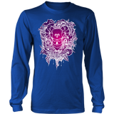 Aries Sign Purple Colors Style 1 Hoodies, Sweatshirt, Long Sleeve