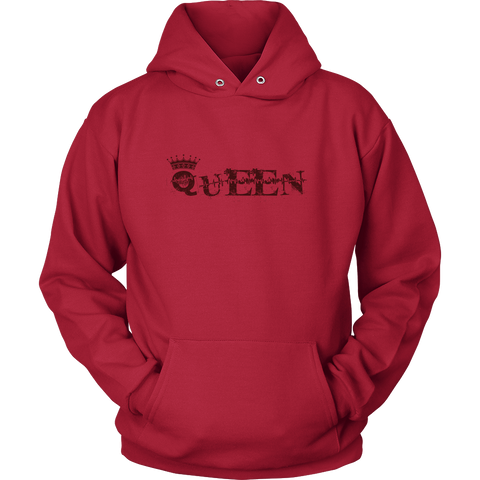 Queen Style Couple 1 Hoodies, Sweatshirt, Long Sleeve