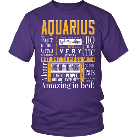 Aquarius Romantic T-Shirts