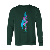 Aquarius Sign Arrow Blue Style Hoodies, Sweatshirt, Long Sleeve