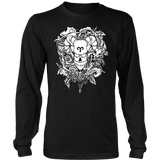Aries Sign Black White Style Hoodies, Sweatshirt, Long Sleeve