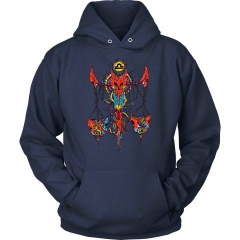 Libra Sign Multicolor Style 2 Hoodies, Sweatshirt, Long Sleeve