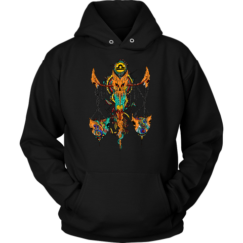 Libra Sign Multicolor Style 1 Hoodies, Sweatshirt, Long Sleeve