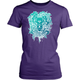 Aries Sign Cold Colors Style 1 T-Shirts