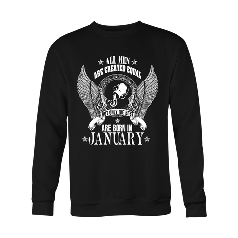 Best men are born in Januarry Hoodies, Sweatshirt, Long Sleeve