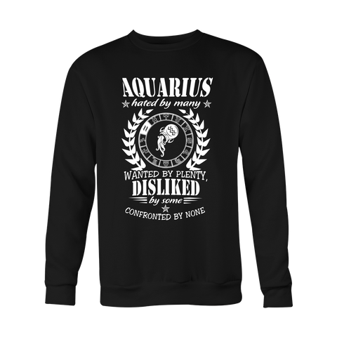 Aquarius Wanted Hoodies, Sweatshirt, Long Sleeve