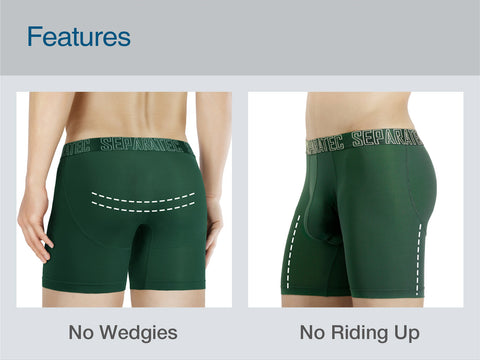 Separatec 2 Pouch underwear, No wedgies, No riding up