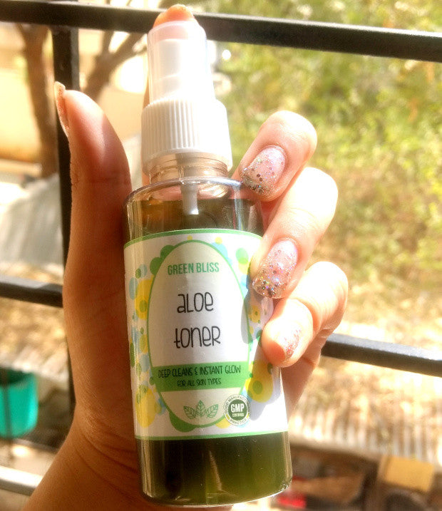 WHEN I GOT MAGIC IN A BOTTLE FROM JAS NATURALS: – GREEN BLISS ALOE TONER REVIEW by Thebeautysecretsdiary.wordpress.com