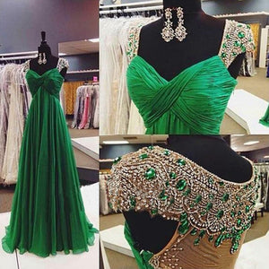 Green prom Dress,Charming Prom Dresses,2016 prom Dress,A-line prom dress,Party dress,BD104