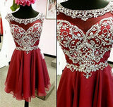 cheap Homecoming dress,Short prom Dress,beaded Prom Dresses,Party dress for girls,cocktail dress,BD90020