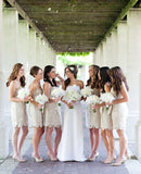 lace bridesmaid dress,short bridesmaid dress,Cheap bridesmaid dress,sheath bridesmaid dress,BD840