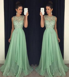 Mint green Prom Dress, Charming Prom Dress,