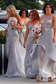 gray bridesmaid dress,new design bridesmaid dress,2016 bridesmaid dress,charming bridesmaid dress,BD852  alt=