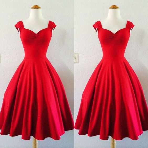 Short Prom Dress,Red Prom Dress,Party Prom Dress,Homecoming Dress,Party dress for girls,BD170