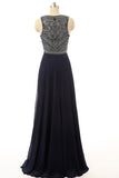 Navy Prom Dresses,Long Prom Dresses,Charming Prom Dress,2016 Prom Dress,Party Dress,BD145