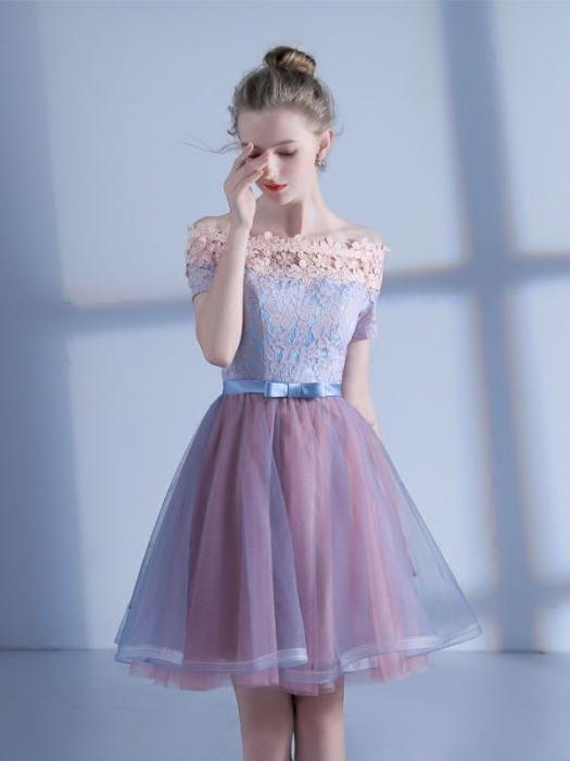 prom dresses with short sleeves