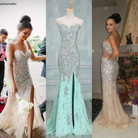 Long prom Dress,Charming Prom Dress,Mermaid prom dress,Sweetheart prom dresses,evening dress,BD017  alt=