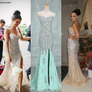 Long prom Dress,Charming Prom Dress,Mermaid prom dress,Sweetheart prom dresses,evening dress,BD017