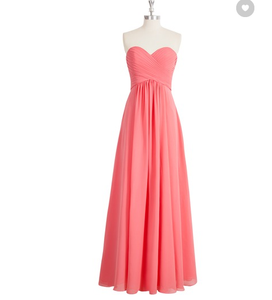 peach bridesmaid dress,long bridesmaid dress,chiffon bridesmaid dress,cheap bridesmaid dresses,BD1250