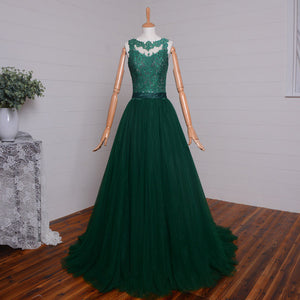 Green Prom Dresses, Lace Prom Dress,Dresses For Prom,2016 Prom Dress,Formal Prom Dress,BD352
