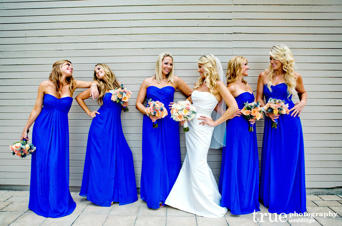 Cheap Blue Bridesmaid Dresses | Royal Blue Bridesmaid Dress Long Bridesmaid Dress Chiffon Bridesmaid
