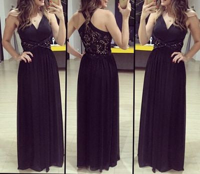 black prom Dress,charming Prom Dress,2017 prom dress,formal prom dress,long prom dress,BD904