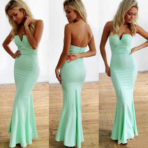mint prom dress,sheath Prom Dress,long prom dress,2016 prom dress,party dress,BD791