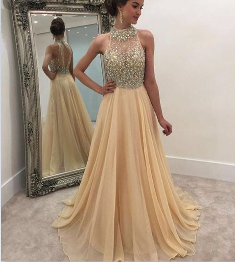 long formal prom dress,elegant prom dress,