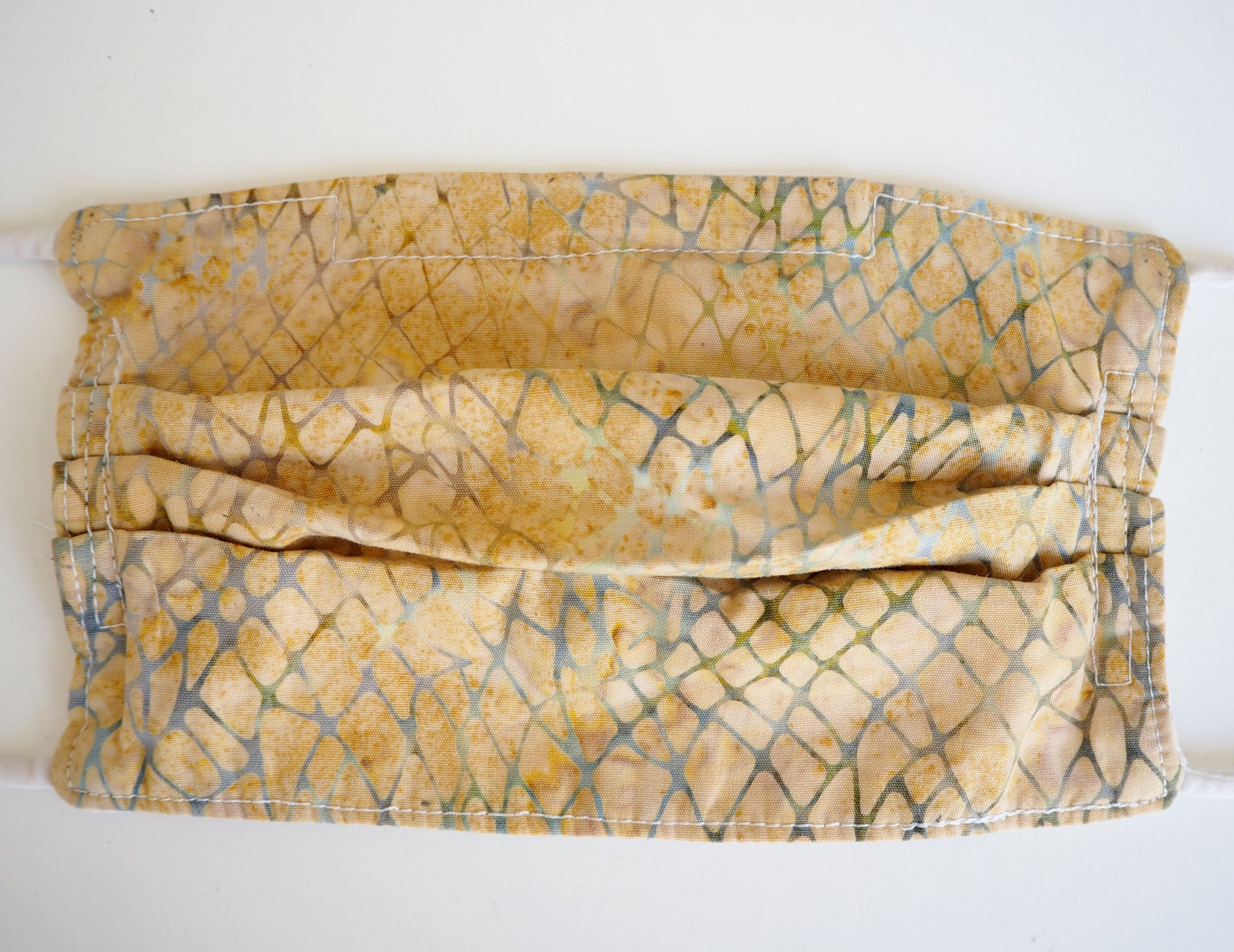 Reusable CHILD Face mask - Sand and Sea Batik