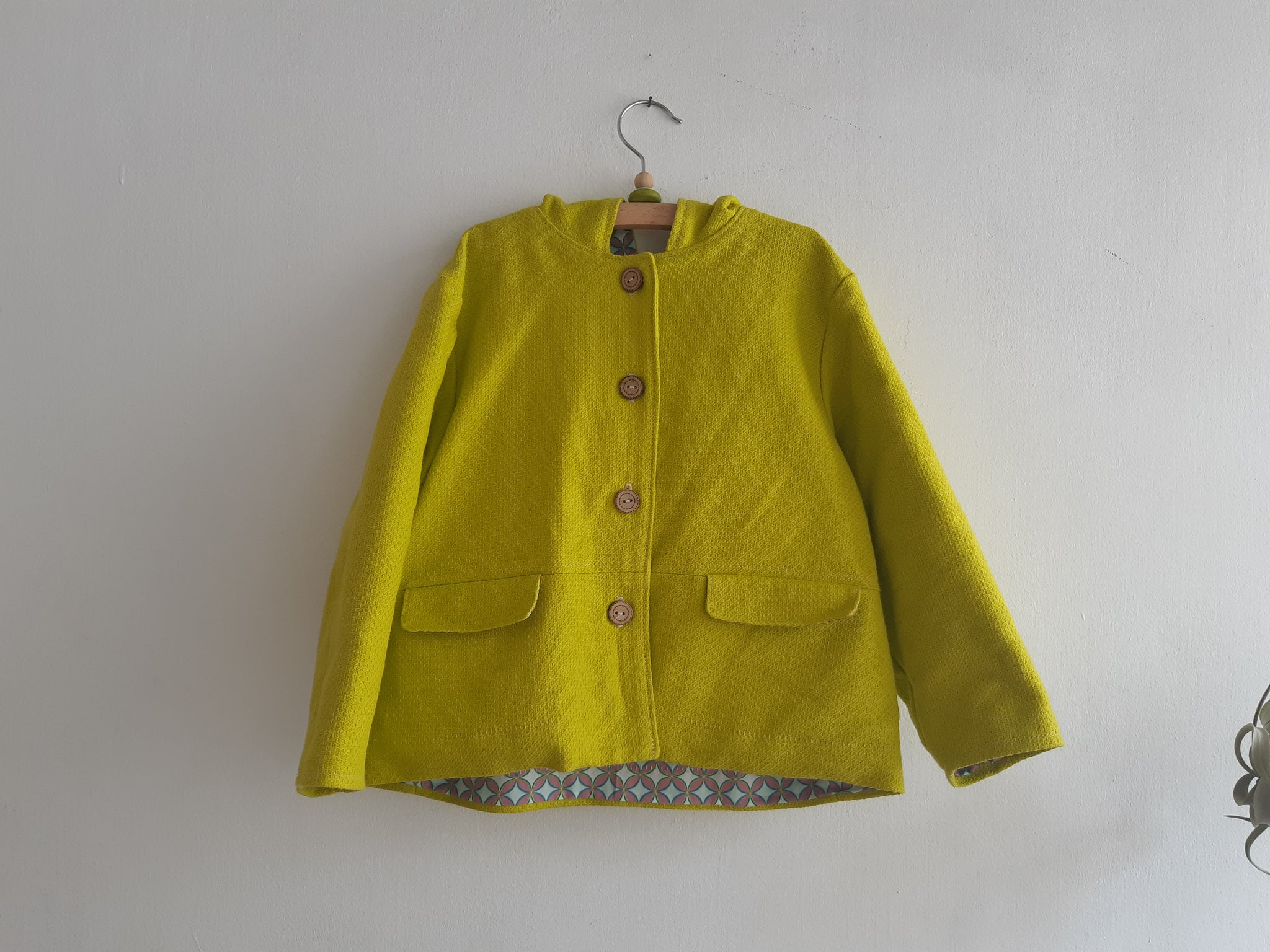 Bright Lemon Jacket